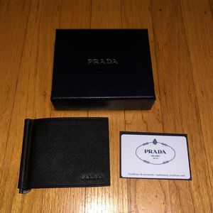 Prada men's wallet